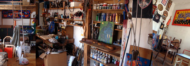Studio of Terrah, photo: Jasna Jernejšek