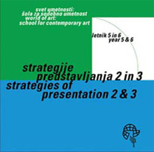 Zbornik Strategije predstavljanja 2 in 3, 2004