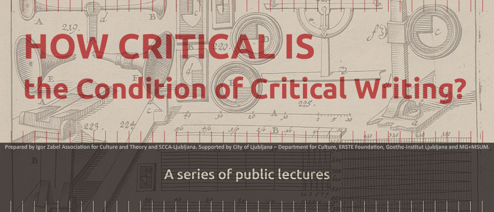 How Critical Is the Condition of Critical Writing?